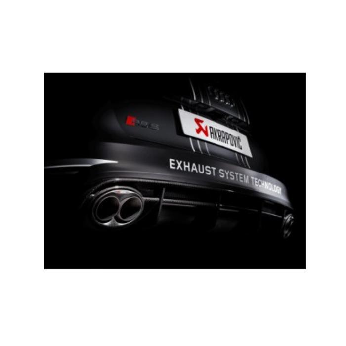Akrapovic Evolution Line Titanium voor de Audi RS6
