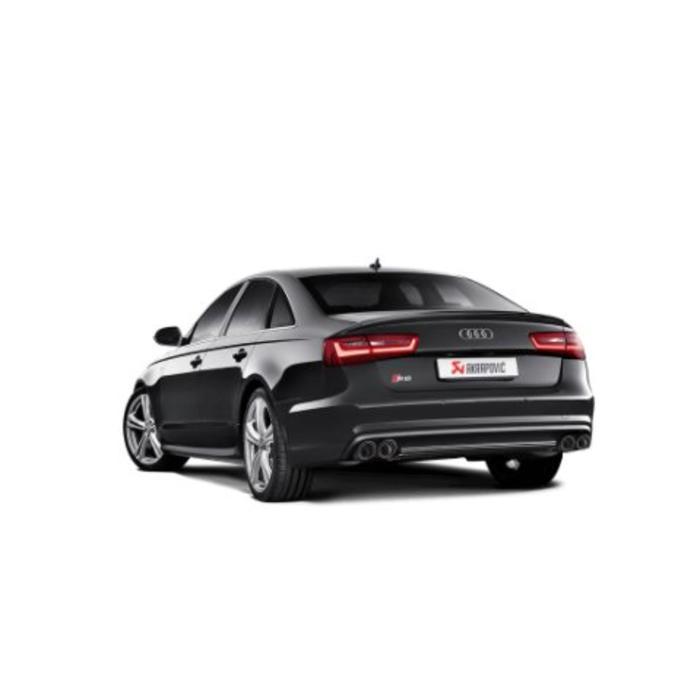 Akrapovic Evolution Line Titanium voor de Audi S6
