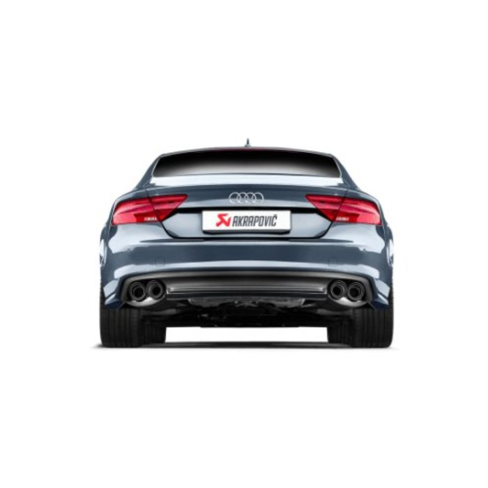Akrapovic Evolution Line Titanium voor de Audi S7