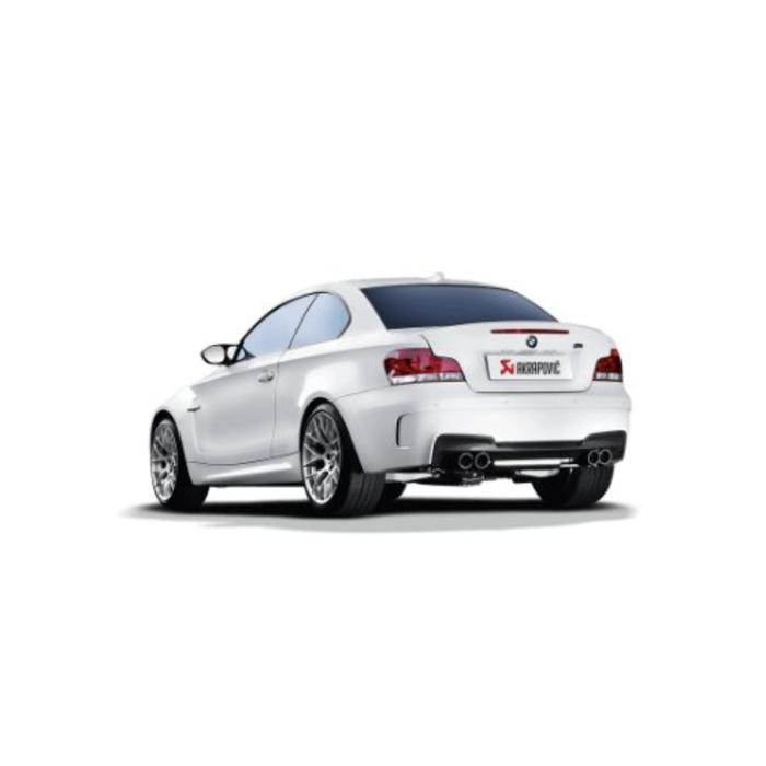 Akrapovic Slip-On Line Titanium voor de BMW 1 Serie M