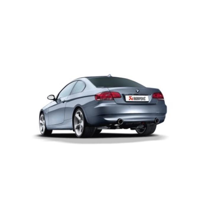 Akrapovic Evolution Line Titanium voor de BMW 335i