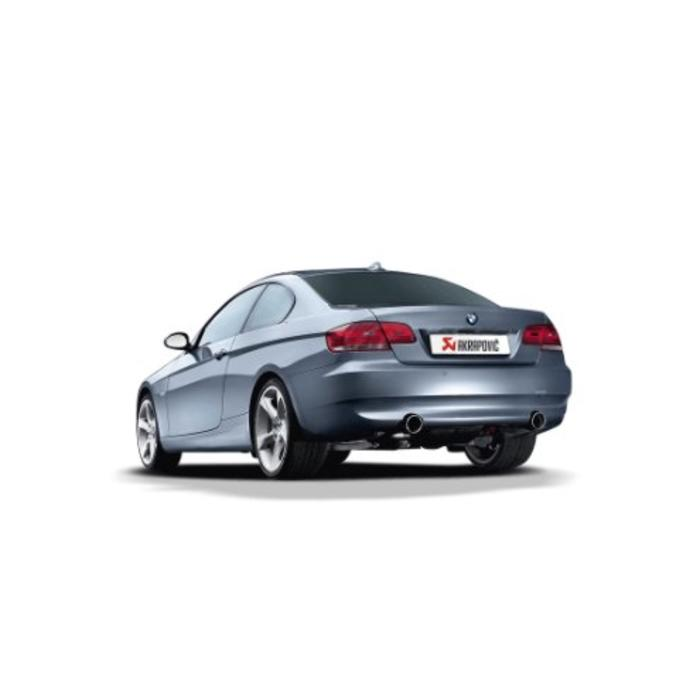 Akrapovic Evolution Line Titanium voor de BMW 335i (E92)