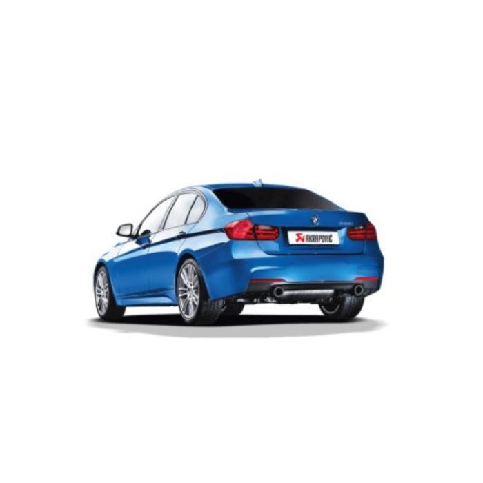 Akrapovic Evolution Line (SS) voor de BMW 335i (F30-31)