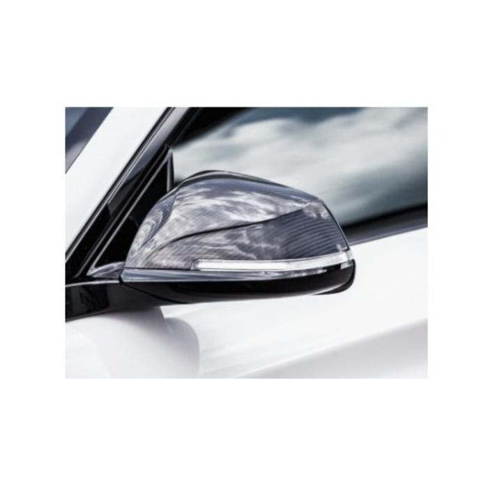 Akrapovic Carbon Mirror Cap Set - Gloss voor de BMW M2 (F87)