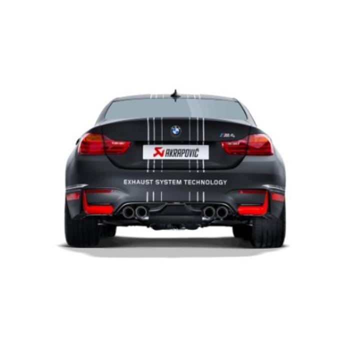 Akrapovic Rear Carbon Diffuser voor de BMW M4 (F82-83)
