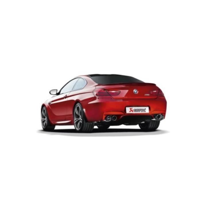 Akrapovic Evolution Line Titanium/Carbon voor de BMW M6 (F12-13)