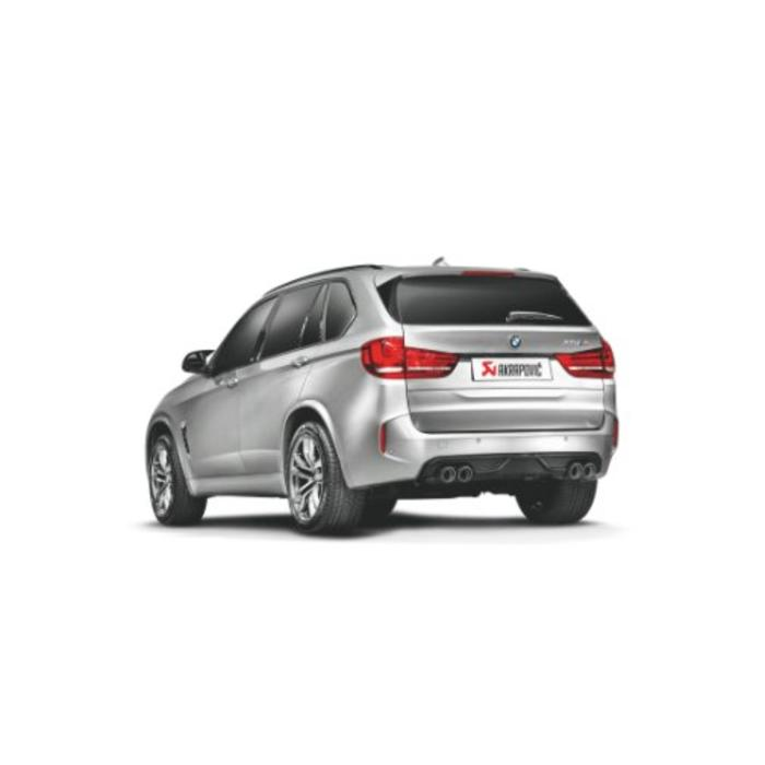 Akrapovic Rear Carbon Diffuser voor de BMW X5 (F85)