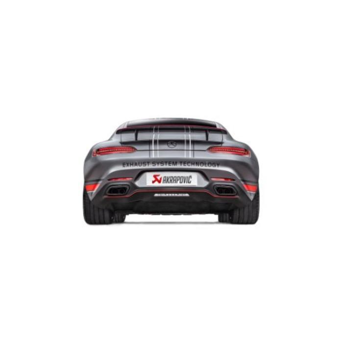 Akrapovic Evolution Line Titanium voor de GT / GT S (C190-120)