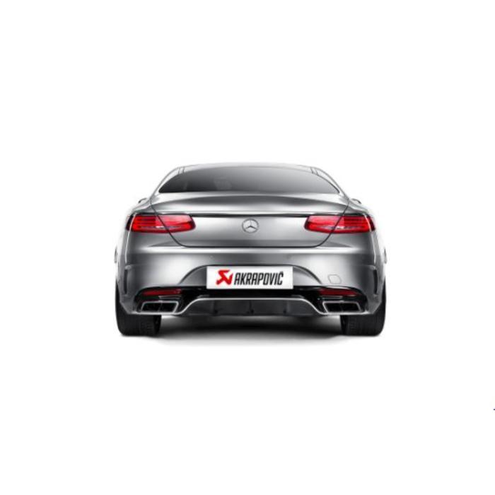 Akrapovic Evolution Line Titanium voor de S 63 Coupe / Cabriolet (C217-R217)