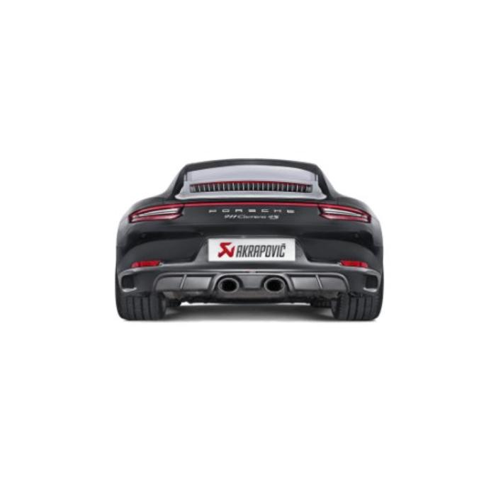 Akrapovic Slip-On Line Titanium voor de 911 Carrera S/4/4S/GTS (991.2)