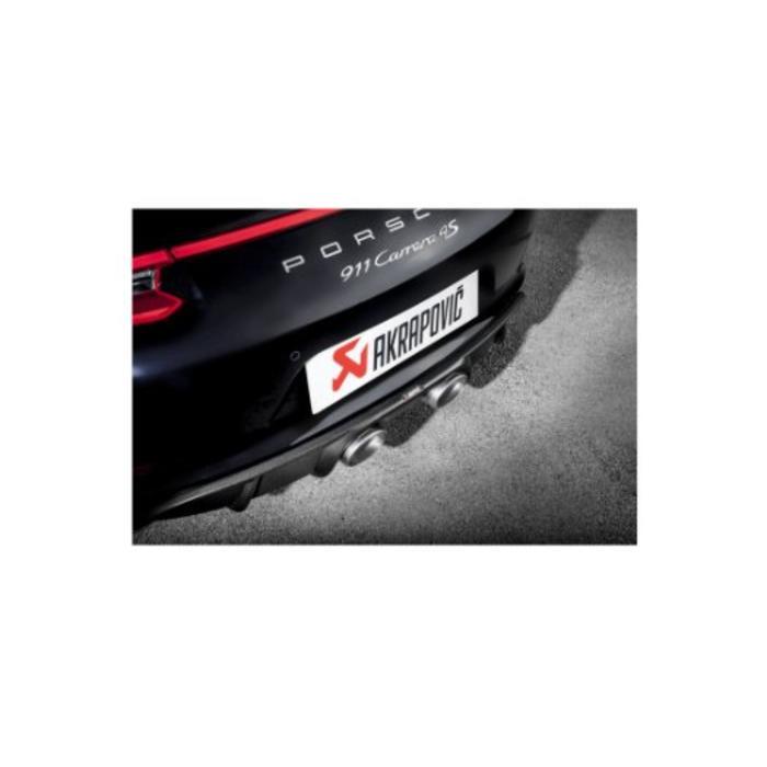 Akrapovic Rear Carbon Diffuser - Mat voor de 911 Carrera S/4/4S/GTS (991.2)