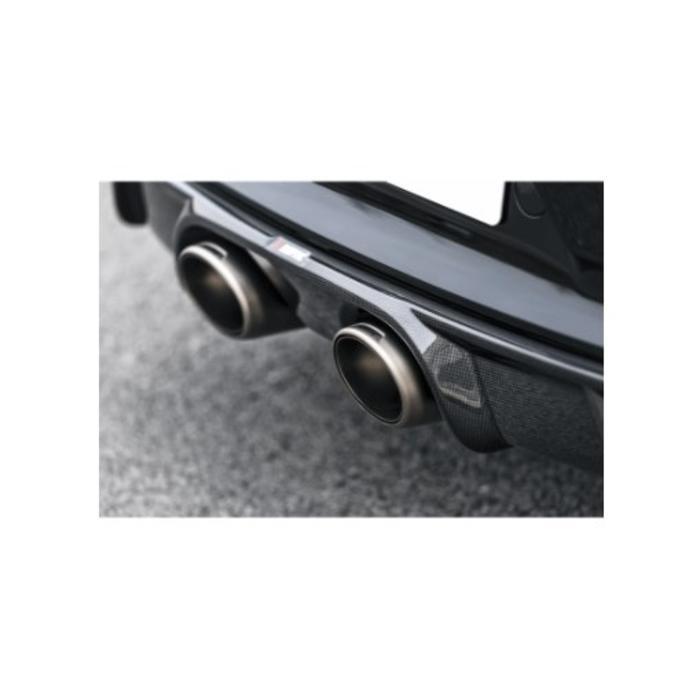 Akrapovic Rear Carbon Diffuser - Glanzend voor de 911 Carrera S/4/4S/GTS (991.2)