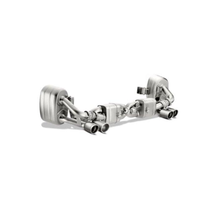 Akrapovic Slip-On Line Titanium voor de 911 Carrera S/4/4S/GTS (991)