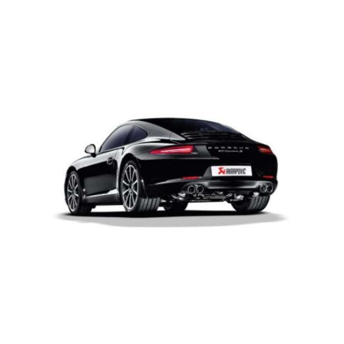 Akrapovic Slip-On Line Titanium voor de 911 Carrera Cabriolet S/4/4S/GTS (991)