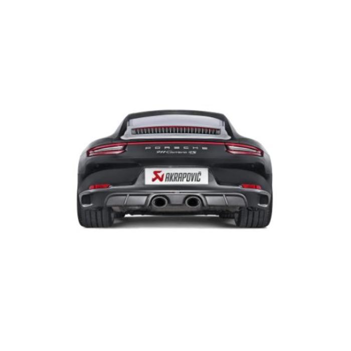Akrapovic Slip-On Line Titanium voor de 911 Carrera Cabriolet S/4/4S/GTS (991.2)