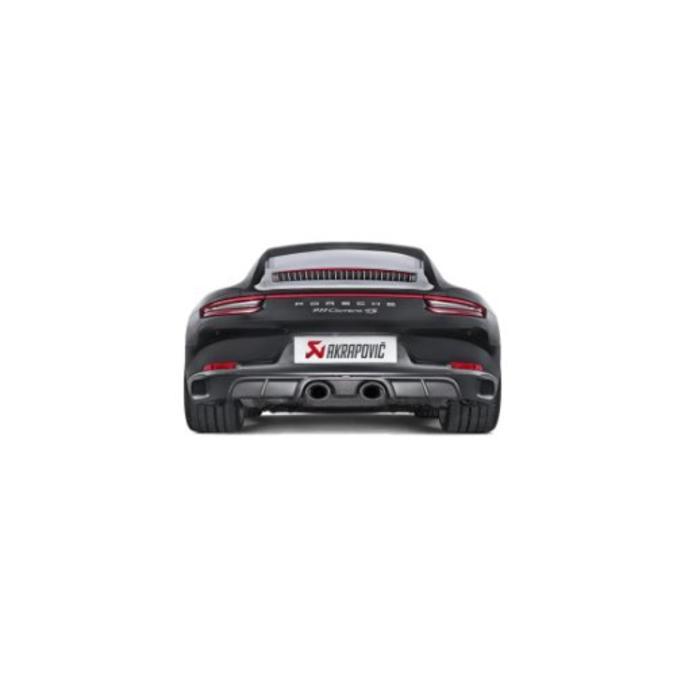 Akrapovic Rear Cabon Diffuser - Mat voor de 911 Carrera Cabriolet S/4/4S/GTS (991.2)