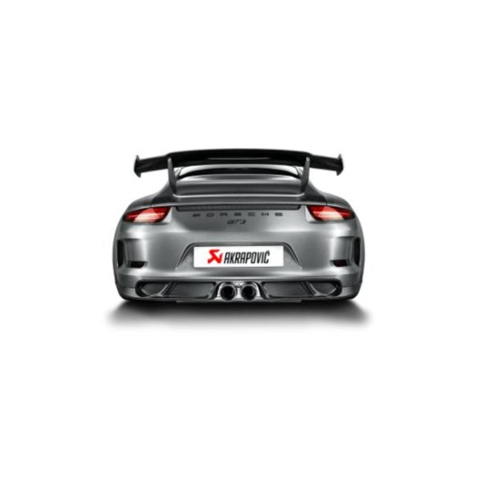 911 GT3 (991) Rear Carbon Diffuser voor de Porsche
