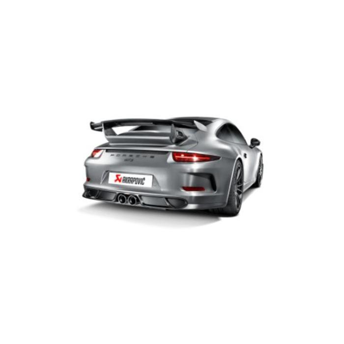 911 GT3 (991) Slip-On Line Titanium 991 voor de Porsche