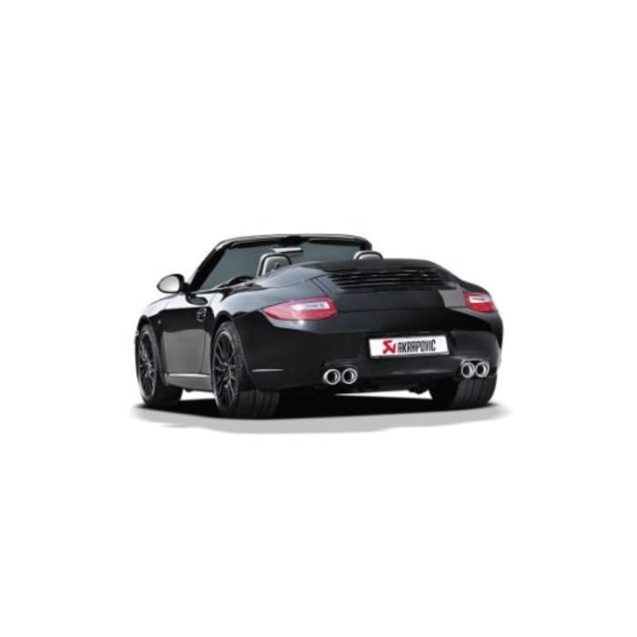 911 Targa 4/4S (997) Slip-On Line Titanium voor de Porsche