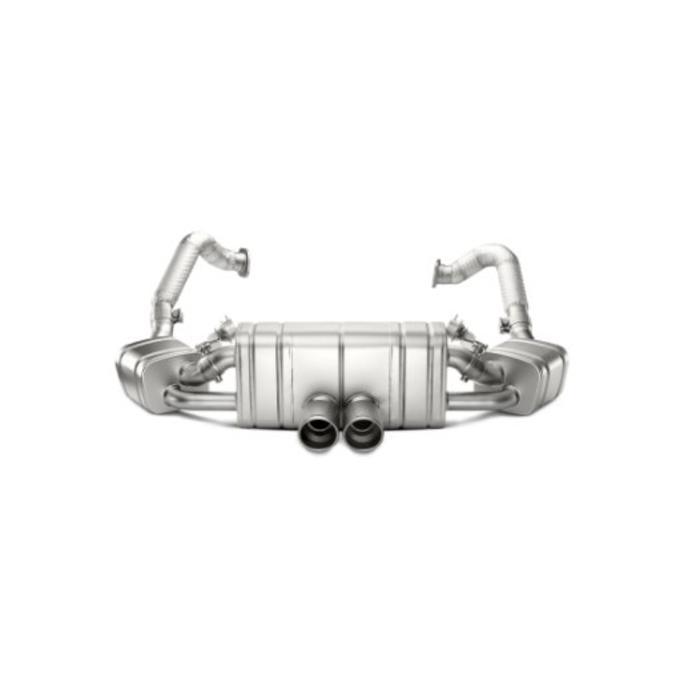 Boxster GTS (981) Slip-On Line Titanium