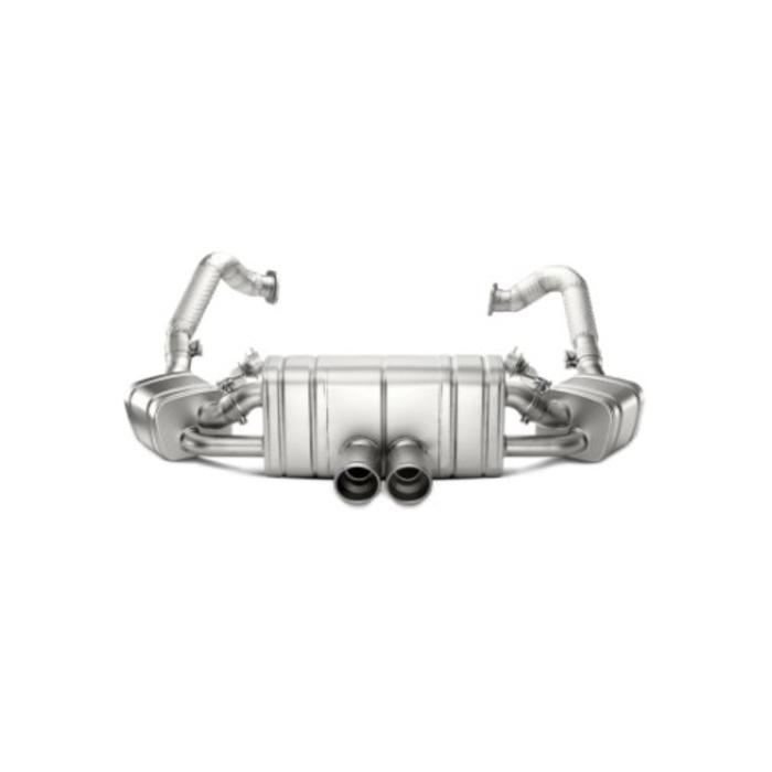 Boxster S (981) Slip-On Line Titanium voor de Porsche