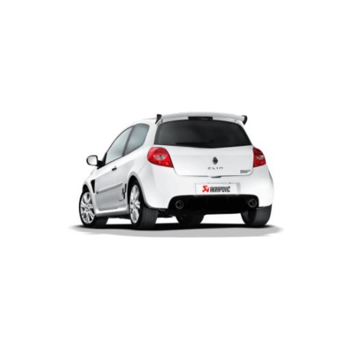 Clio III RS 200 Slip-On Line (SS) voor de Renault