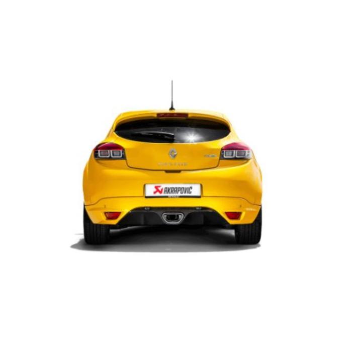 Megane Coupe RS Evolution Line Titanium voor de Renault