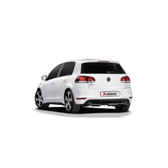 Golf (VI) GTD Slip-On Line (SS) voor de Volkswagen