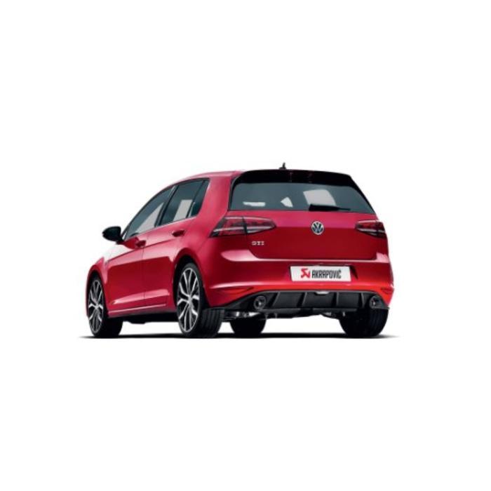 Golf (VII) GTI Slip-On Race Line Titanium voor de Volkswagen