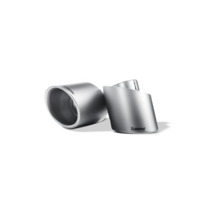 Scirocco R Slip-On Line (SS) - Titanium/Carbon voor de Volkswagen