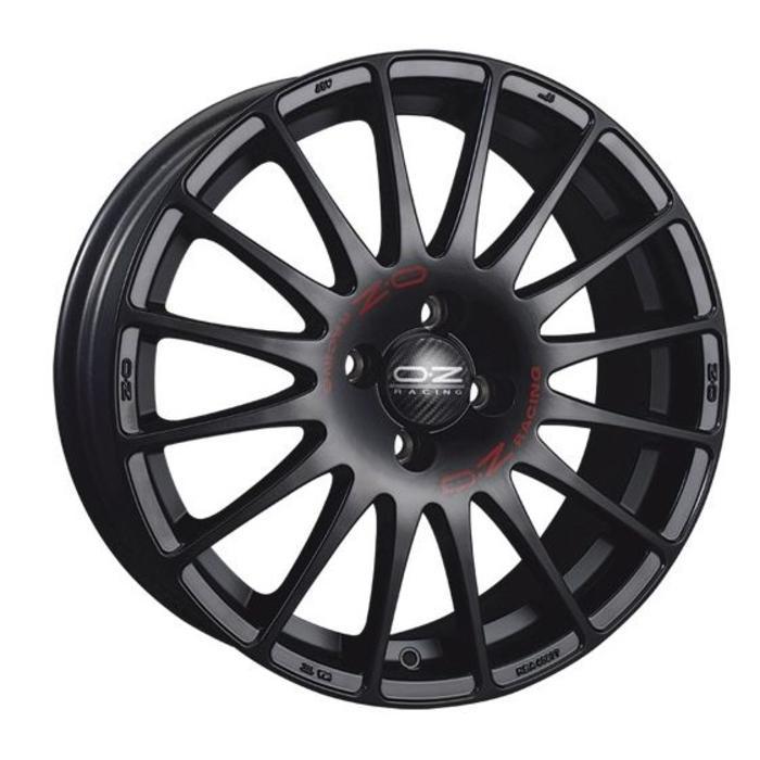 OZ SuperTurismo GT - Mat zwart 17''