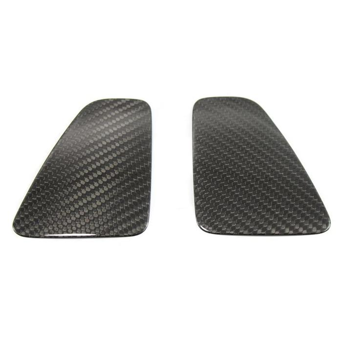 Abarth 500 centrale achterlicht cover in carbon