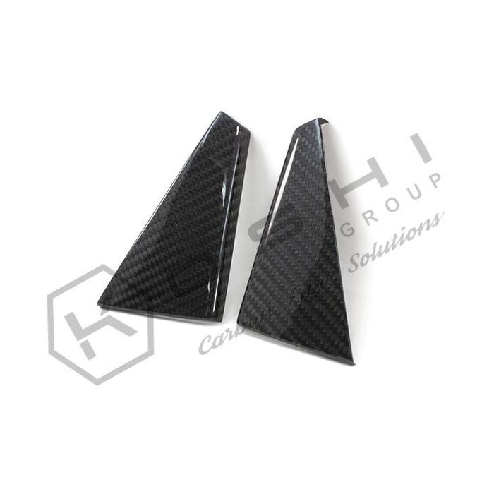 4C driehoekige deurpanelen in carbon