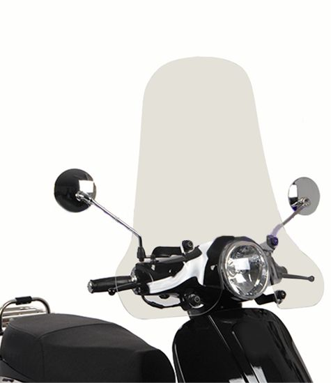 Scooter windscherm forza transparant
