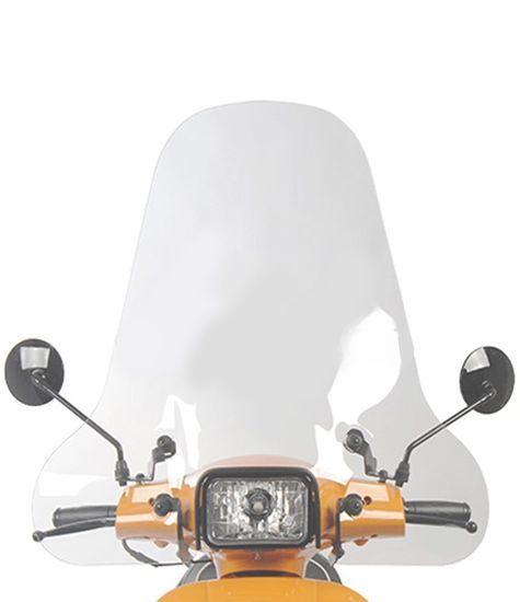 Scooter windscherm vista transparant