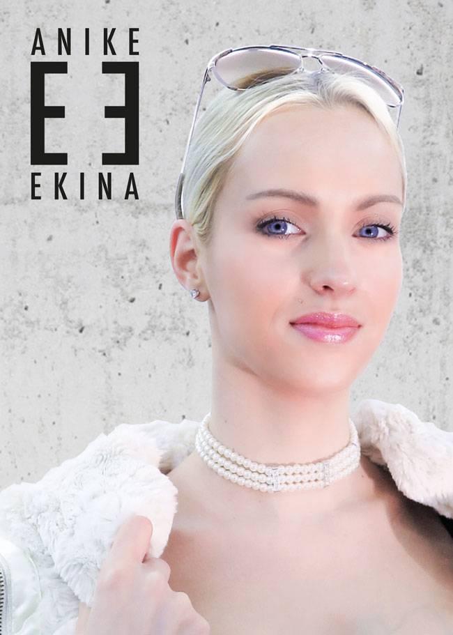 Anike Ekina Autogramm DIN A6 2016 handsigniert