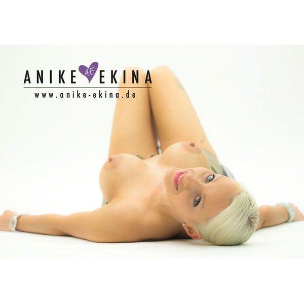 Anike Ekina Autogramm DIN A6 2015 handsigniert