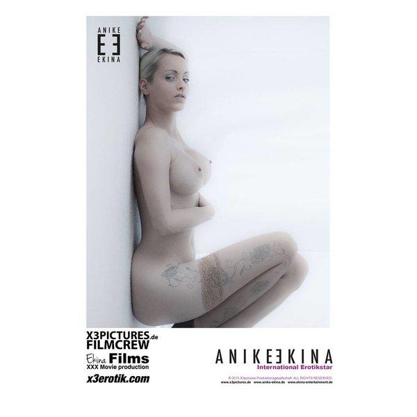Anike Ekina Autogramm Groß 2015 handsigniert