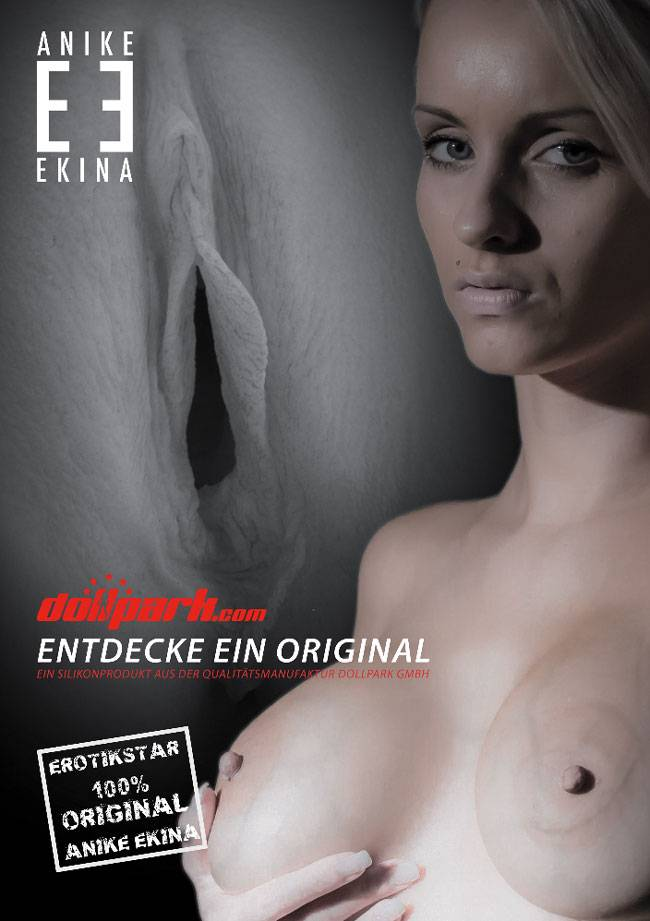 Anike Ekina Plakat A2 Dollpark entdecke ein Original