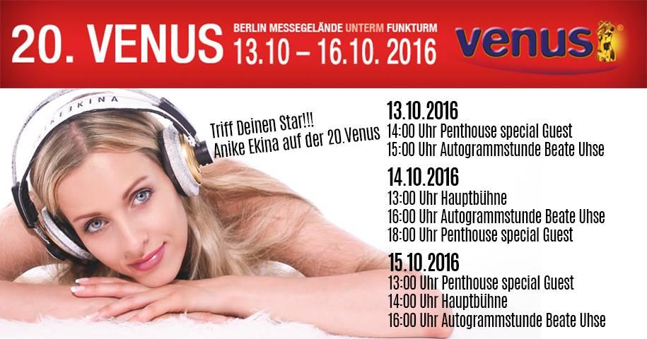 Anike Ekina - zu Gast auf der 20. Venus in Berlin