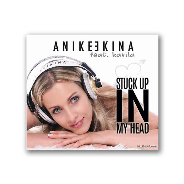 "Anike Ekina -  LIMITIERTE MAXI CD "" Stuck up in my Head "" feat. Kavila  HANDSIGNIERT"