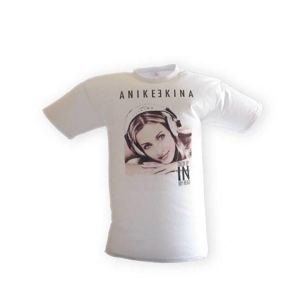 Anike Ekina - STUCK UP IN MY HAND T-Shirt Uni halftone