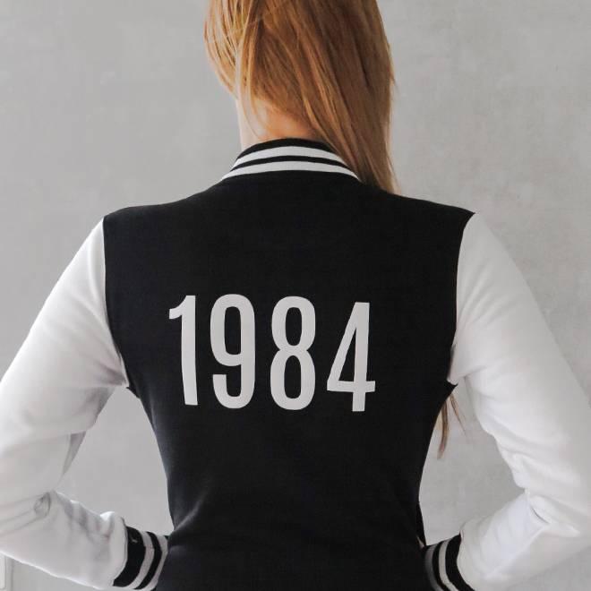 TrippleX Damen College Jacke 1984 - designed by Anike Ekina