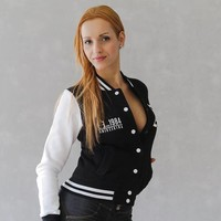 TrippleX Damen College Jacke 1984 - designed by Anike Ekina