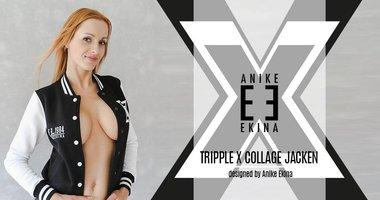 TrippleX College Jacken 1984 - by Anike Ekina