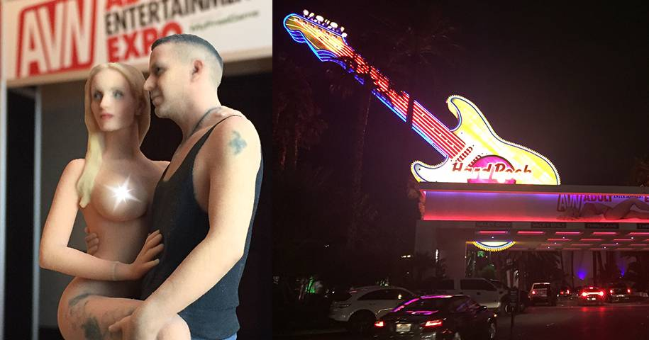 ANIKE EKINA in Las Vegas auf der AVN