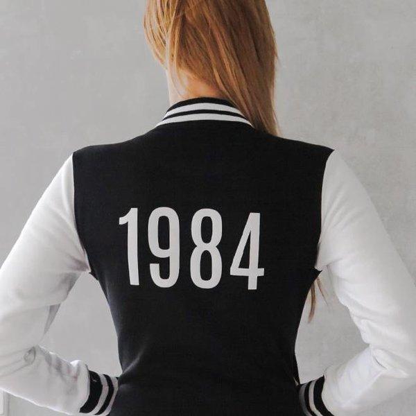 TrippleX Herren College Jacke 1984 - designed by Anike Ekina