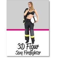 Anike Ekina - Sexy Firefighter | verschiedene Größen