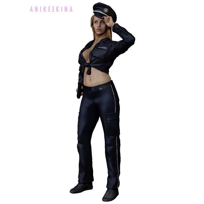 Anike Ekina - Sexy Police Girl