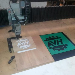 AVH Machinebouw Sorteerplaat 120x100 cm